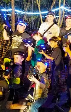 Outdoor Tactical Laser Tag in Starke Florida